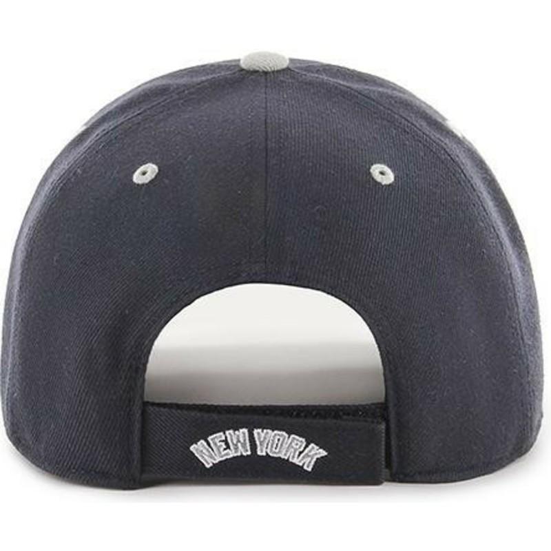 80595bad6b4a82 47 Brand Curved Brim New York Yankees MLB MVP DP Audible Navy Blue ...