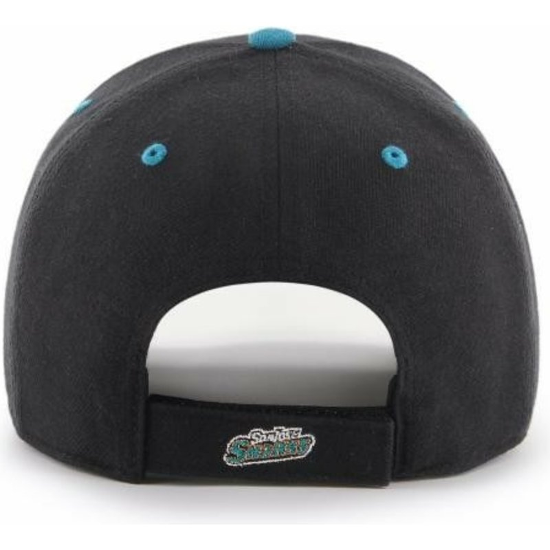 Eishockey Weitere Wintersportarten 47brand San Jose Sharks Mvp Curved Adjustable Cap