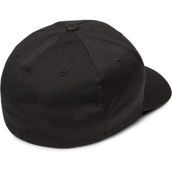 volcom-curved-brim-black-full-stone-xfit-black-fitted-cap