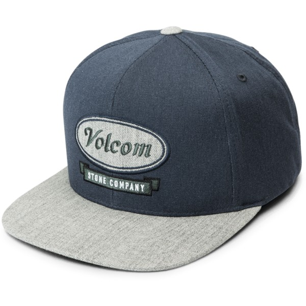 volcom-flat-brim-midnight-blue-cresticle-navy-blue-snapback-cap-with-grey-visor