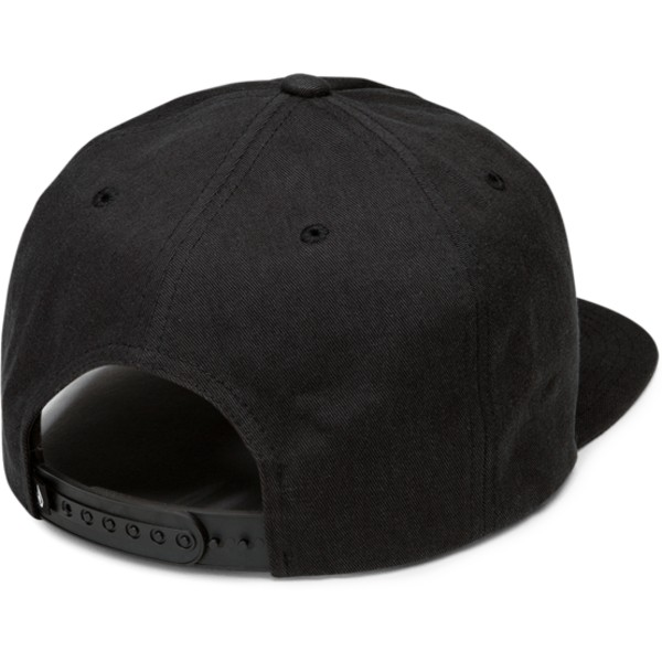 volcom-flat-brim-stealth-no-vacancy-black-snapback-cap