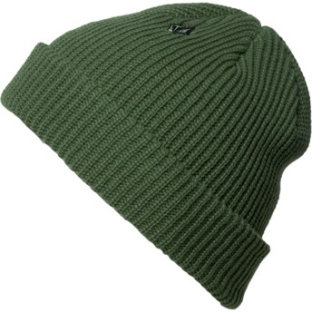Volcom Dark Kelly Full Stone Green Beanie