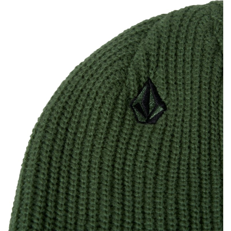 f95848dd78a Volcom Dark Kelly Full Stone Green Beanie  Shop Online at Caphunters