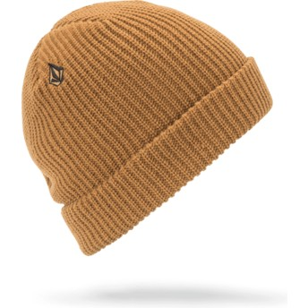 Volcom Old Gold Full Stone Yellow Beanie