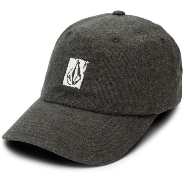 volcom-curved-brim-black-pixel-stone-black-adjustable-cap