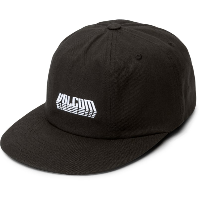 volcom-curved-brim-black-shift-stone-black-adjustable-cap