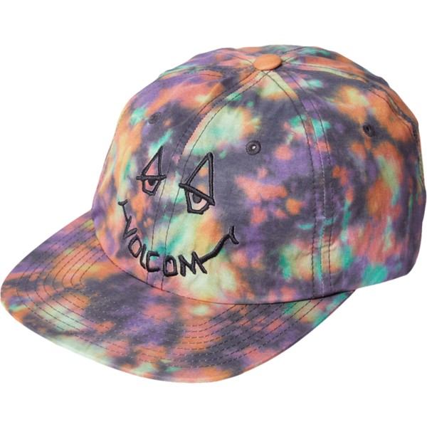 volcom-flat-brim-black-chill-camper-purple-multicolor-adjustable-cap