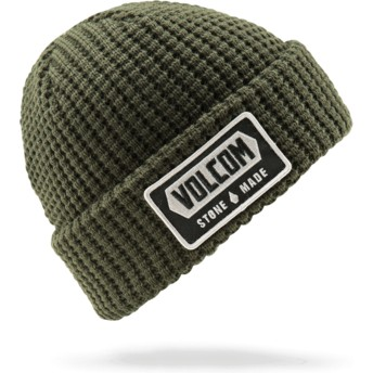 Volcom Dark Green Shop Green Beanie