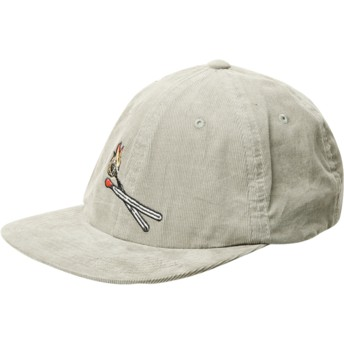 Volcom Flat Brim Dusty Green Majestic Green Adjustable Cap