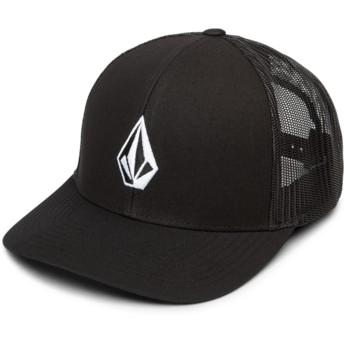 Volcom New Black Full Stone Cheese Black Trucker Hat