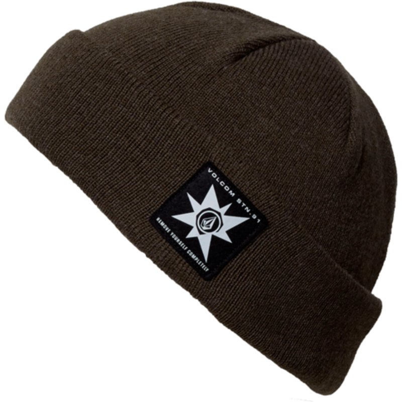 e33b5cd16d9 Volcom Tarmac A.P. Brown Beanie  Shop Online at Caphunters