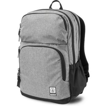 Volcom Black Grey Roamer Grey Backpack
