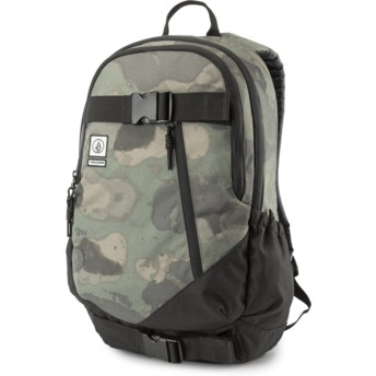 Volcom Camouflage Substrate Camouflage Backpack