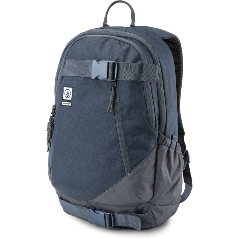 Volcom Midnight Blue Substrate Navy Blue Backpack  Shop Online at Caphunters 97757068285