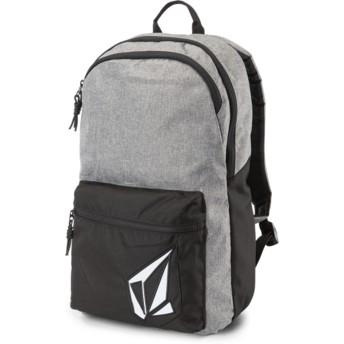 Volcom Black Grey Academy Grey Backpack