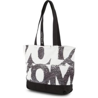Volcom Black Voltom Tote Black Handbag