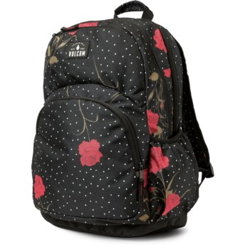 Volcom Black Combo Fieldtrip Poly Bkpk Black Backpack