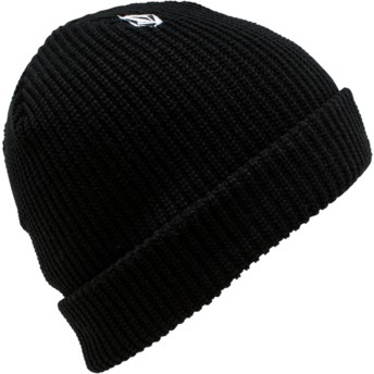 Volcom Youth Black Full Stone Black Beanie