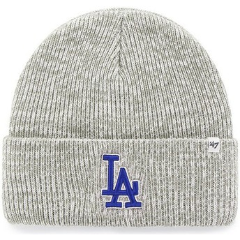 47 Brand Los Angeles Dodgers MLB Cuff Knit Brain Freeze Grey Beanie