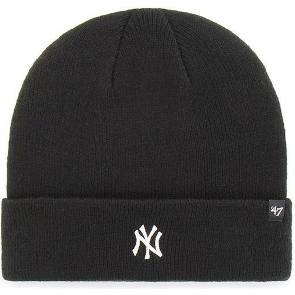 47-brand-new-york-yankees-mlb-cuff-knit-centerfield-black-beanie
