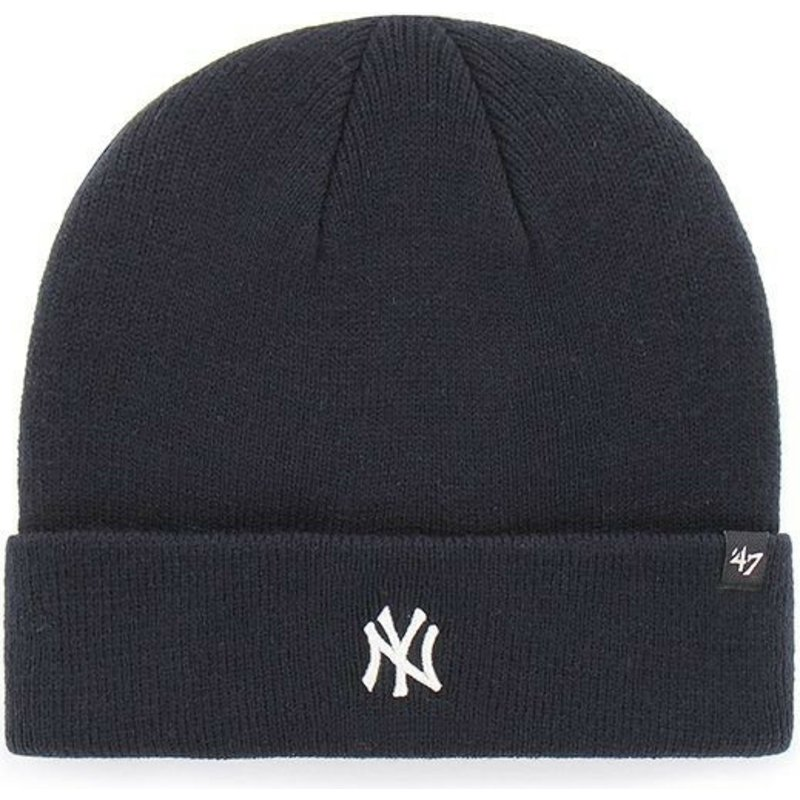 47 Brand New York Yankees MLB Cuff Knit Centerfield Navy Blue Beanie ... 2ffe573feb8a