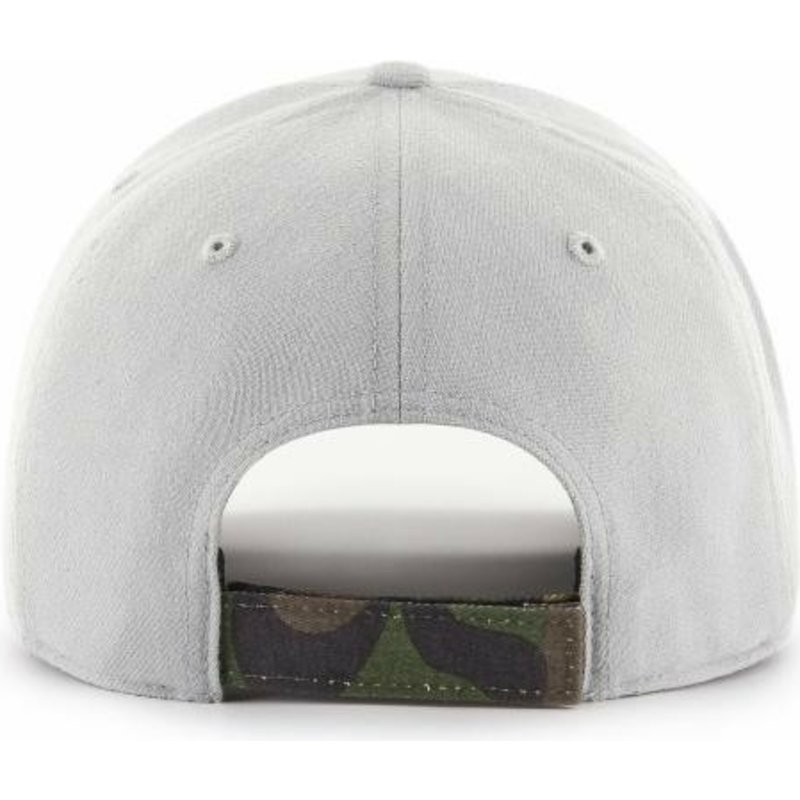 47 Brand Curved Brim Camouflage Logo Los Angeles Dodgers MLB MVP DP ... 10d69c70a144