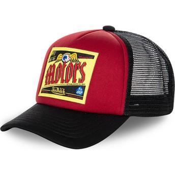 Von Dutch BER02 Red Trucker Hat