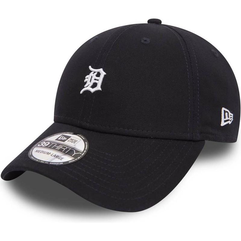 ef0527be287 New Era Curved Brim 39THIRTY Mini Logo Detroit Tigers MLB Maroon ...