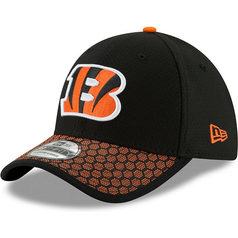 finest selection b54cc d089a new-era-curved-brim-39thirty-sideline-cincinnati-bengals-