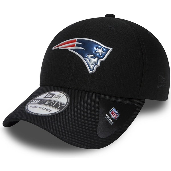 new-era-curved-brim-39thirty-black-coll-new-england-patriots-nfl-navy-blue-fitted-cap