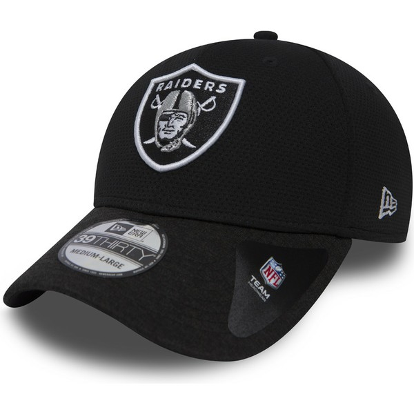 new-era-curved-brim-39thirty-shadow-tech-oakland-raiders-nfl-stone-fitted-cap