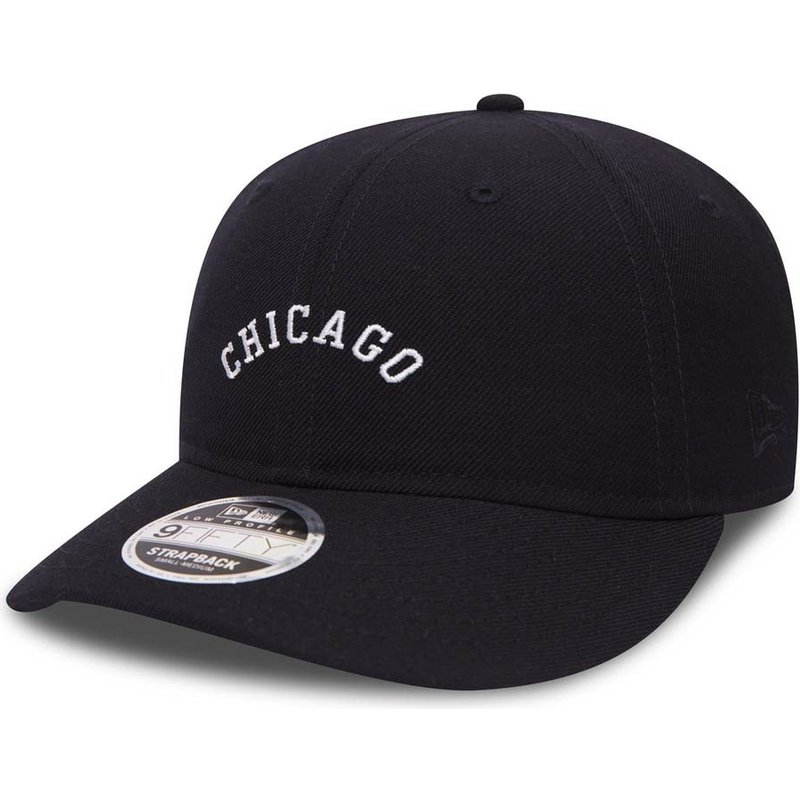 new-era-curved-brim-9fifty-low-profile-city-series-chicago-white-sox-mlb-navy-blue-adjustable-cap