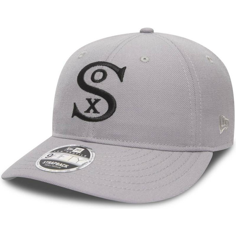 694fa8c1e55 New Era Curved Brim 9FIFTY Low Profile City Series Chicago White Sox ...