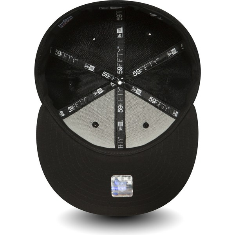 cheap for discount abe0c be343 ... ireland minnesota vikings nfl black fitted cap. new era flat brim  59fifty black coll de