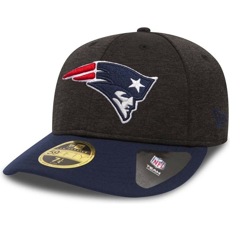 b5fd775f New Era Curved Brim 59FIFTY Low Profile Shadow Tech New England ...