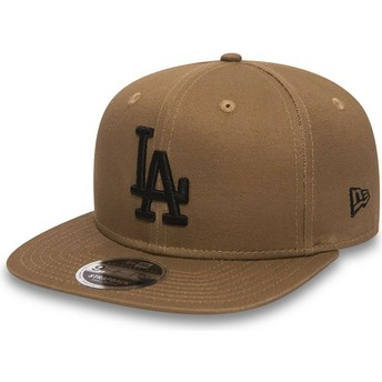 New Era Flat Brim 9FIFTY True Originators Los Angeles Dodgers MLB Green Adjustable Cap