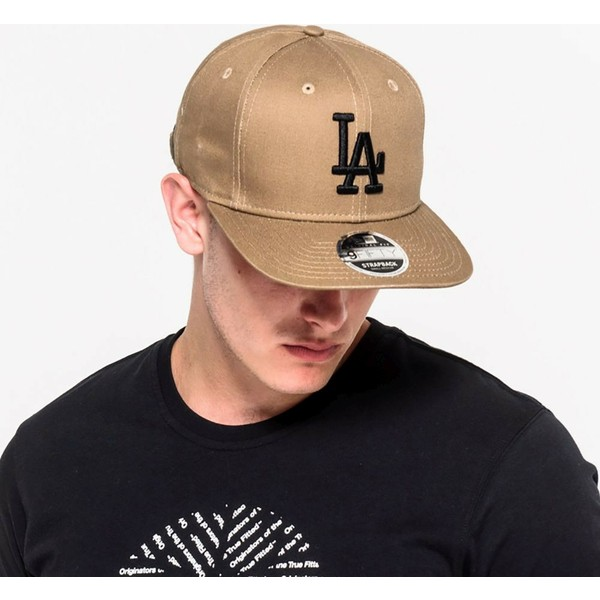 new-era-flat-brim-9fifty-true-originators-los-angeles-dodgers-mlb-green-adjustable-cap