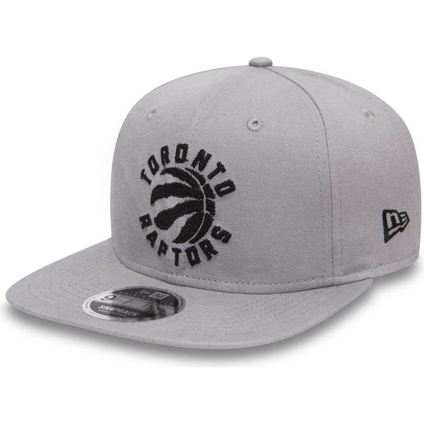 new-era-flat-brim-9fifty-chain-stitch-toronto-raptors-nba-grey-snapback-cap