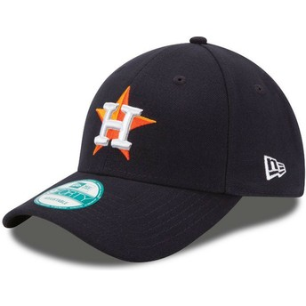 New Era Curved Brim 9FORTY The League Houston Astros MLB Black Adjustable Cap
