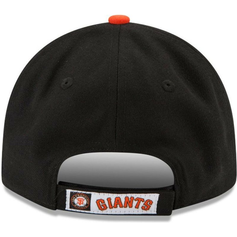 New Era Curved Brim 9FORTY The League San Francisco Giants MLB Black ... c829375ec38