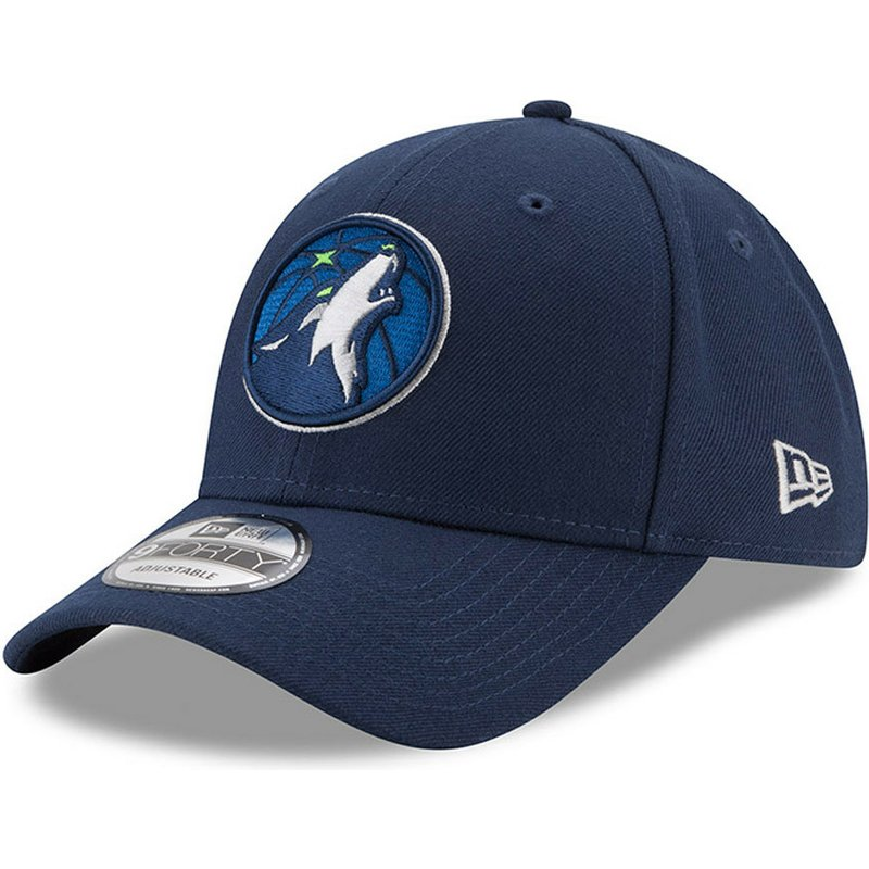 c069cba9 New Era Curved Brim 9FORTY The League Minnesota Timberwolves NBA ...