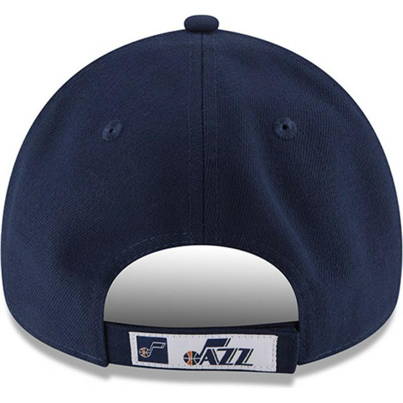 c9ba03a7f9e New Era Curved Brim 9FORTY The League Utah Jazz NBA Navy Blue ...