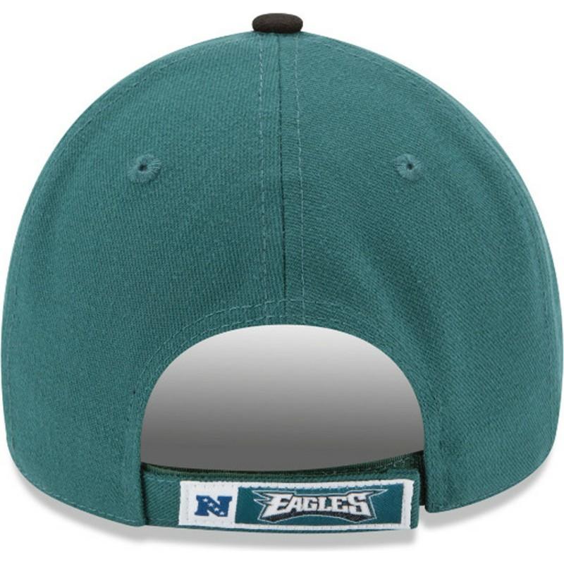 cf9c7917715 New Era Curved Brim 9FORTY The League Philadelphia Eagles NFL Green ...