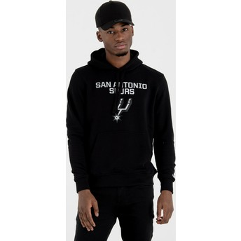 New Era Pullover Hoody San Antonio Spurs NBA Black Sweatshirt