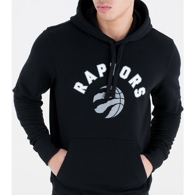 size 40 63703 f2574 New Era Pullover Hoody Toronto Raptors NBA Black Sweatshirt