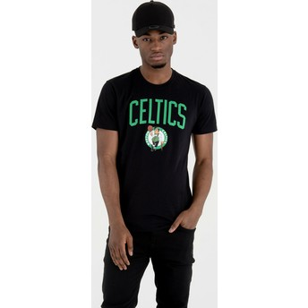 New Era Boston Celtics NBA Black T-Shirt