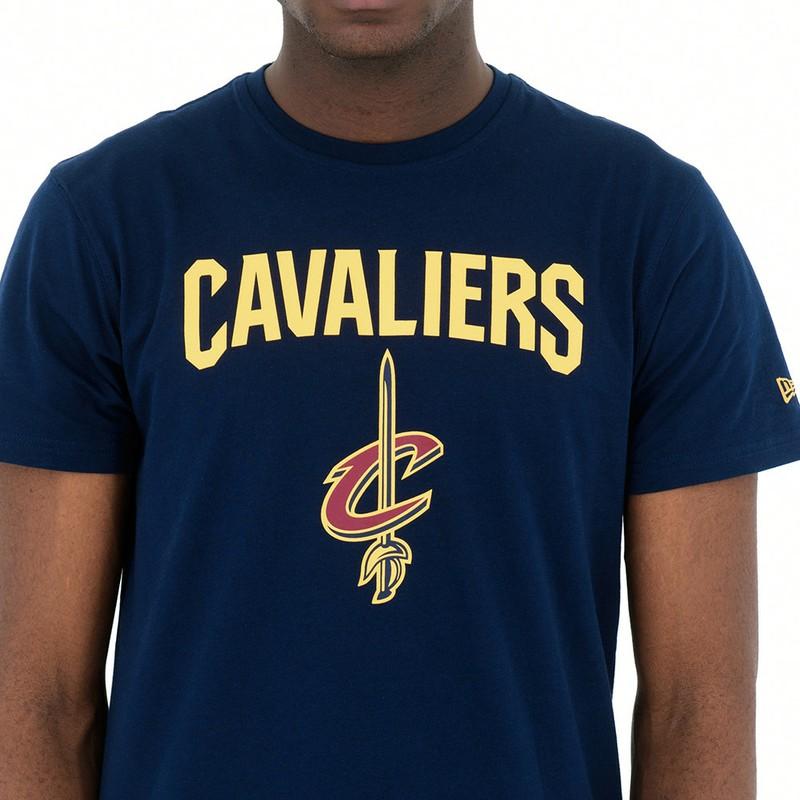 info for d3e7d 8a78f New Era Cleveland Cavaliers NBA Blue T-Shirt