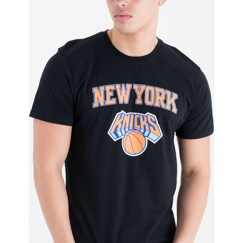 premium selection 9773f 5292b New Era New York Knicks NBA Black T-Shirt