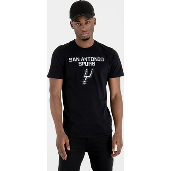 New Era San Antonio Spurs NBA Black T-Shirt
