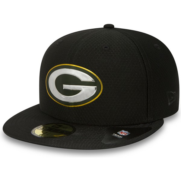 new-era-flat-brim-59fifty-black-coll-green-bay-packers-nfl-black-fitted-cap